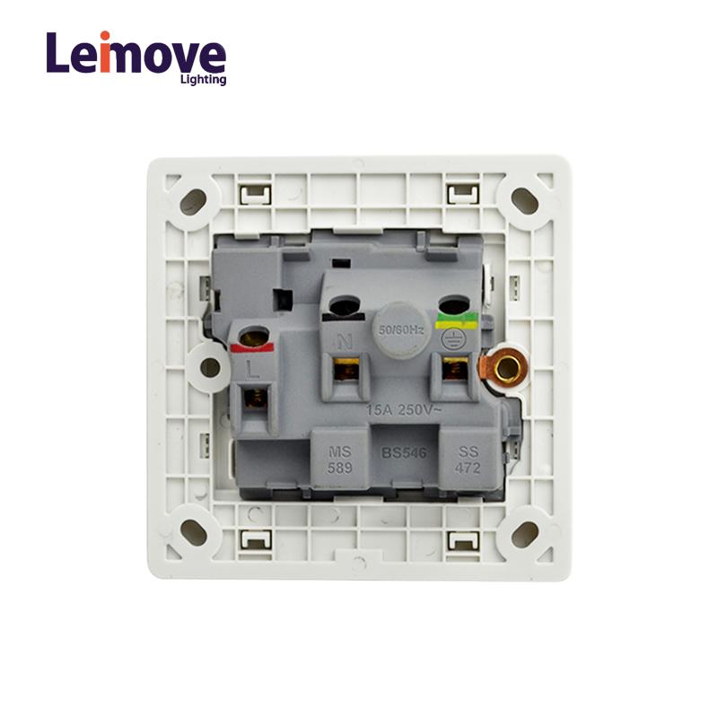 Leimove-Wall Multi 3 Pin Outlet Socket