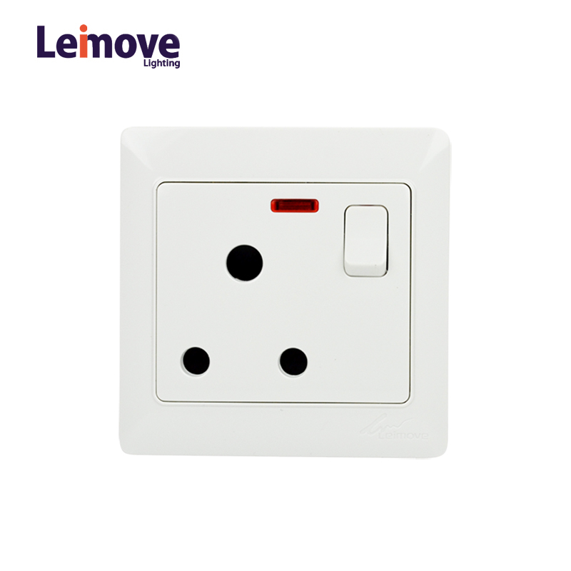 Leimove Wall Multi 3 Pin Outlet Socket Ling Tong Series image33