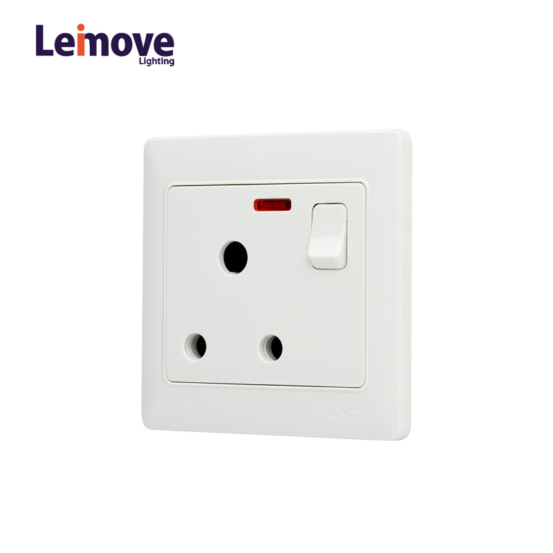 Leimove-Wall Multi 3 Pin Outlet Socket-1