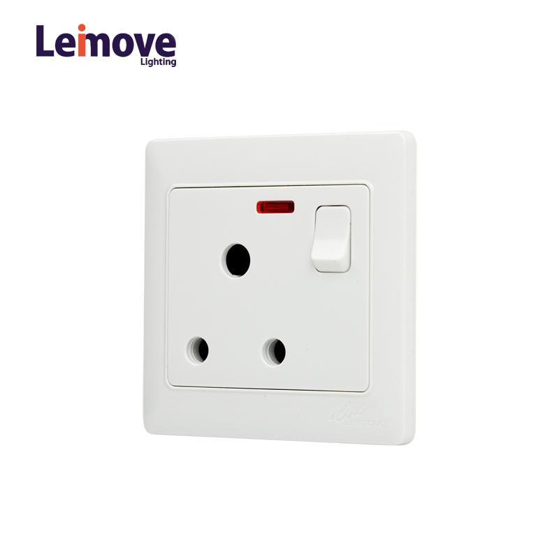 Wall Multi 3 Pin Outlet Socket