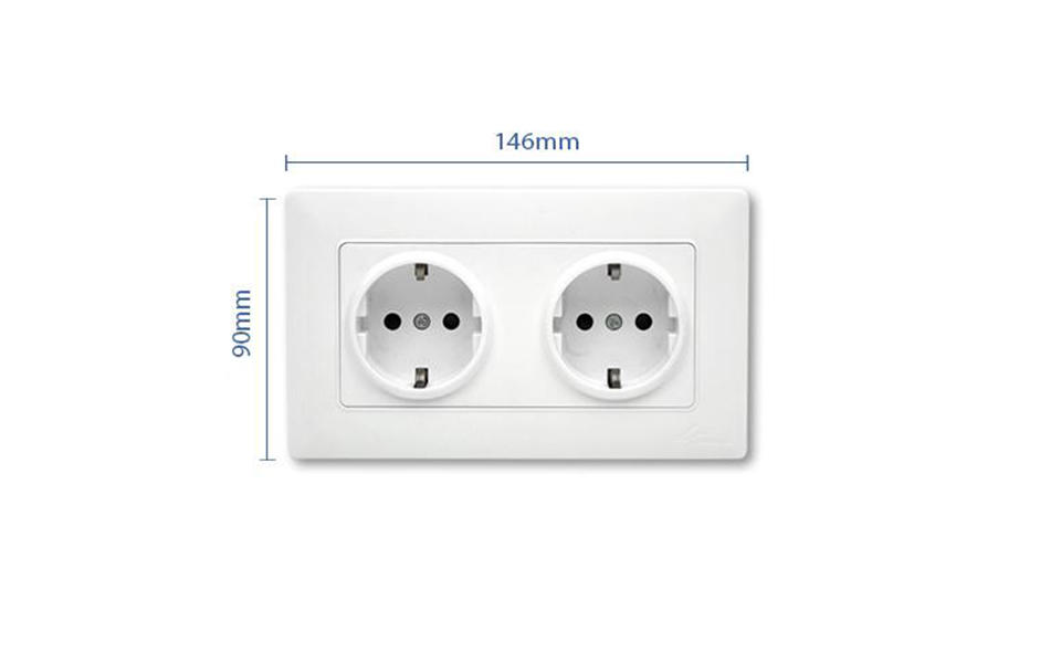 Leimove Brand gang socket outlet switcher factory