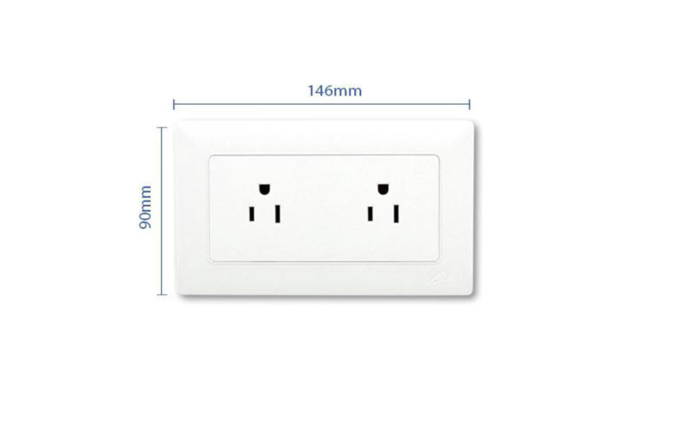 switcher shaver electrical socket outlet outlet Leimove