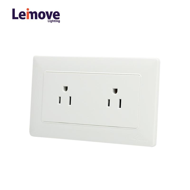 Leimove IP65 Wall Mounted Shaver 110V Socket Ling Tong Series image29