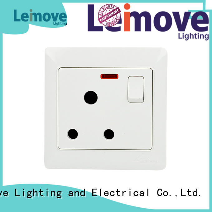 Leimove Brand wall socket pin socket outlet manufacture