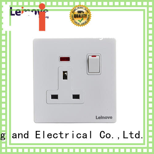 Leimove sand stone outdoor power socket ODM at discount