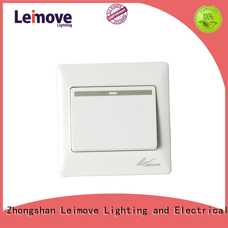 Leimove pc electrical control switch top brand for customization