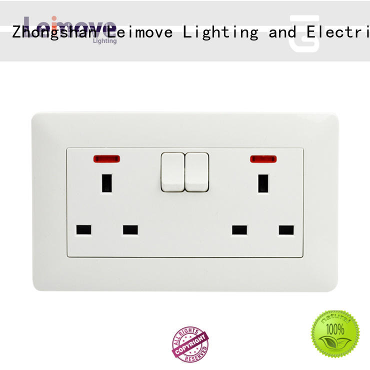 multi-functional china power socket gang fine workmanship for customization