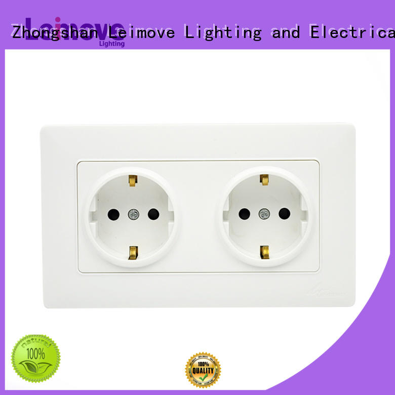 level china electric socket high quality for customization Leimove