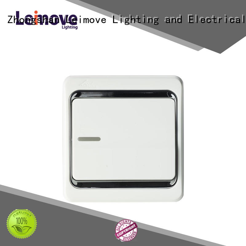 single light switch three warrant Leimove Brand switches and sockets