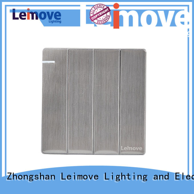 Leimove feather white modern electrical switches for home bulk order for wholesale