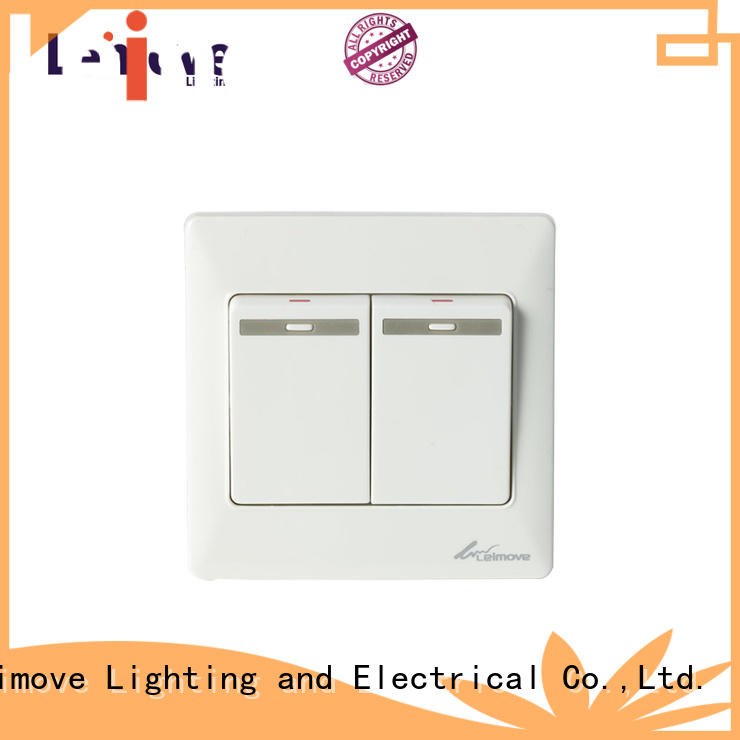 Leimove Brand switch electric light switch plates one supplier