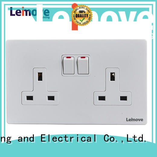 Leimove stainless steel international power socket wholesale factory price