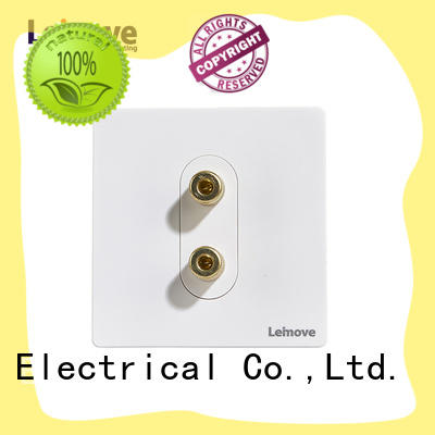 Leimove wire drawing television socket free sample cheapest factory price