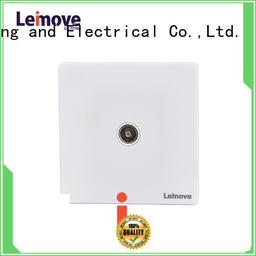 Leimove telephone socket free sample cheapest factory price