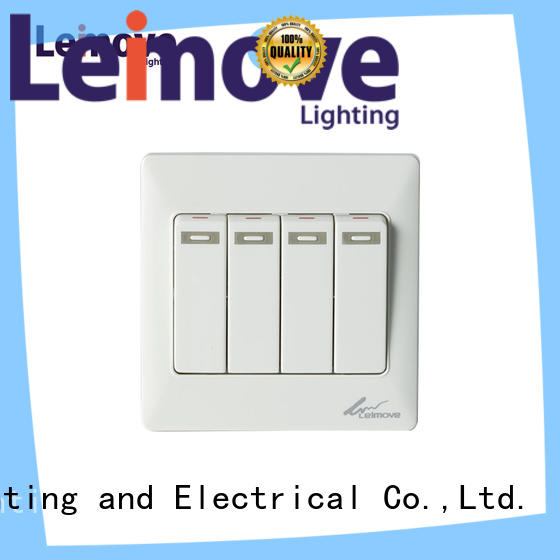 Leimove general electrical control switch home for customization