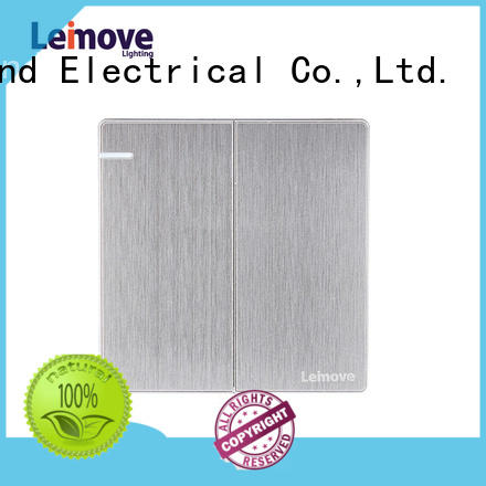 Leimove hot-sale compact light switch universal for wholesale