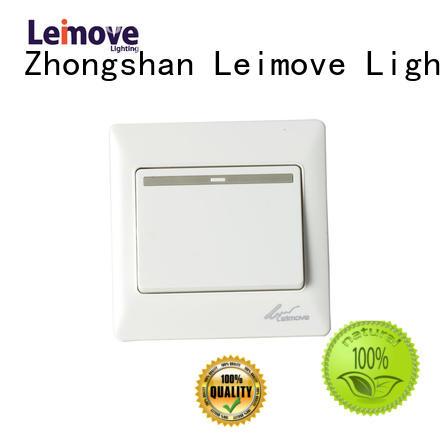 Leimove Brand door home white custom light switch plates