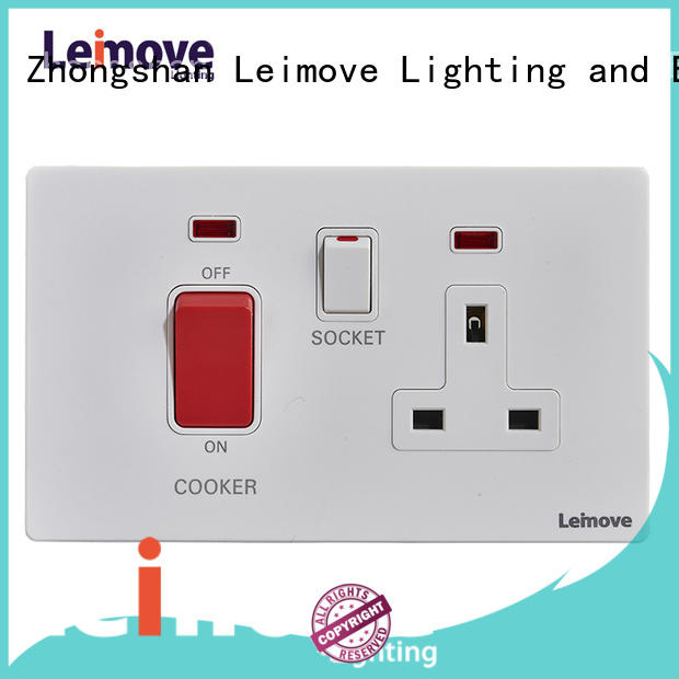 Leimove wire drawing auxiliary power socket ODM factory price