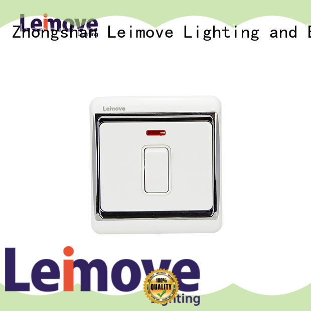 Leimove universal switches and sockets good appearance for customization