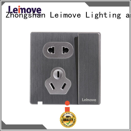 Leimove stainless steel electrical plugs and sockets OEM factory price