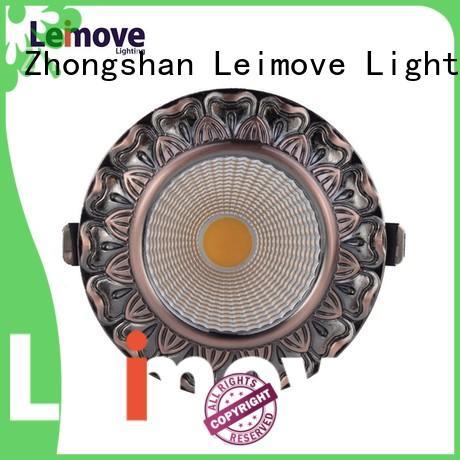 Leimove Brand quality matte led spot light manufacture
