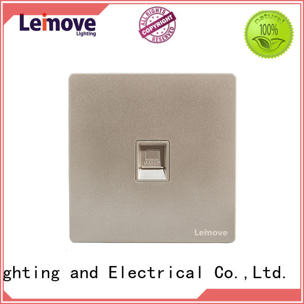 Leimove wire drawing aerial socket free delivery high quality