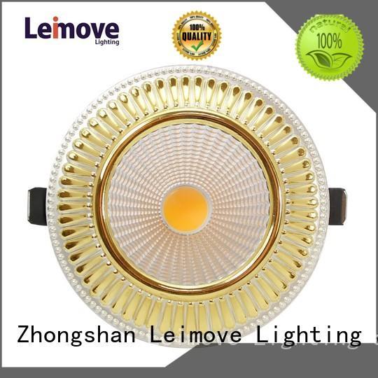 round whlte Leimove Brand spot led