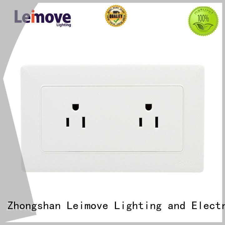 wall power socket mounted light Warranty Leimove