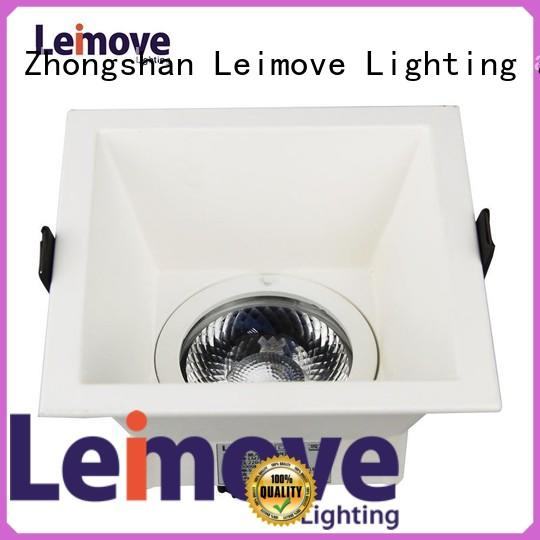 Leimove Brand out round copper warranty led spot light