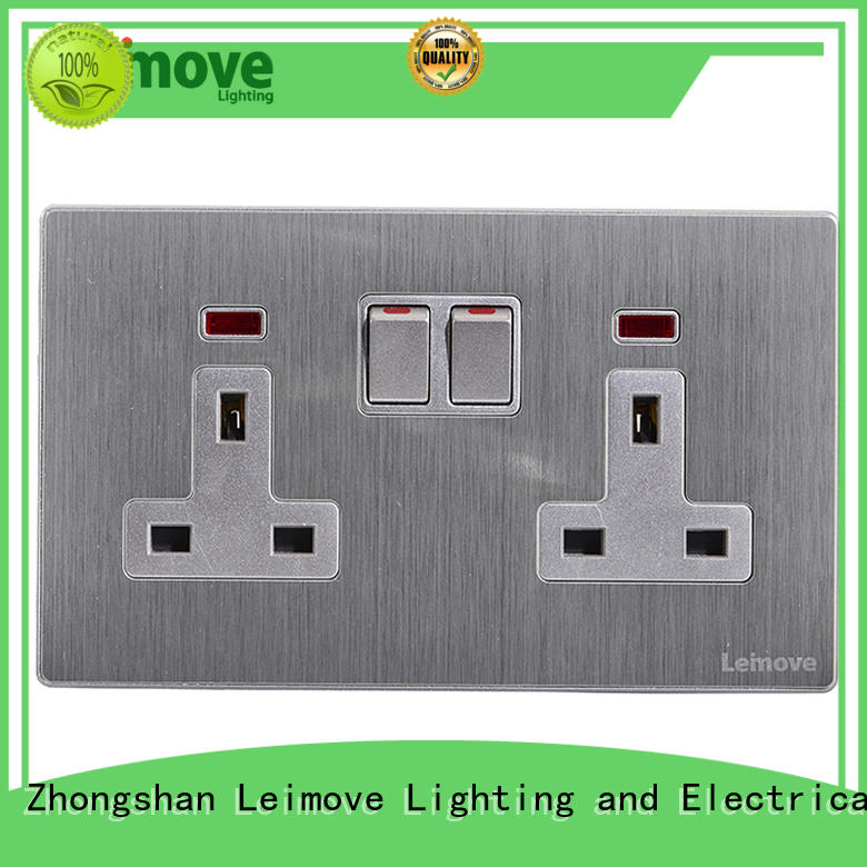 stainless steel cheap plug sockets ODM custom