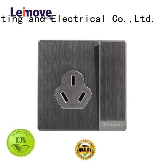 Leimove custom 3 plug socket ODM custom
