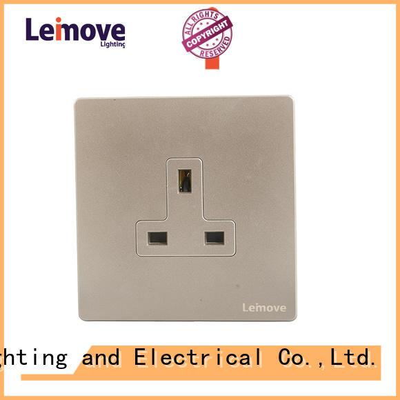 Leimove custom pin plug socket stainless steel custom