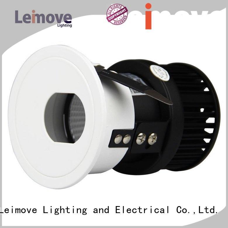 Leimove gold led interior spotlights ultra bright for wholesale