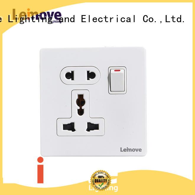 Leimove custom plug and socket OEM factory price