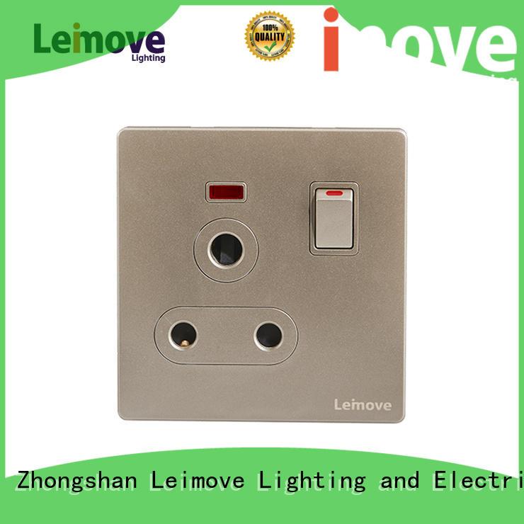Leimove gold international socket ODM factory price