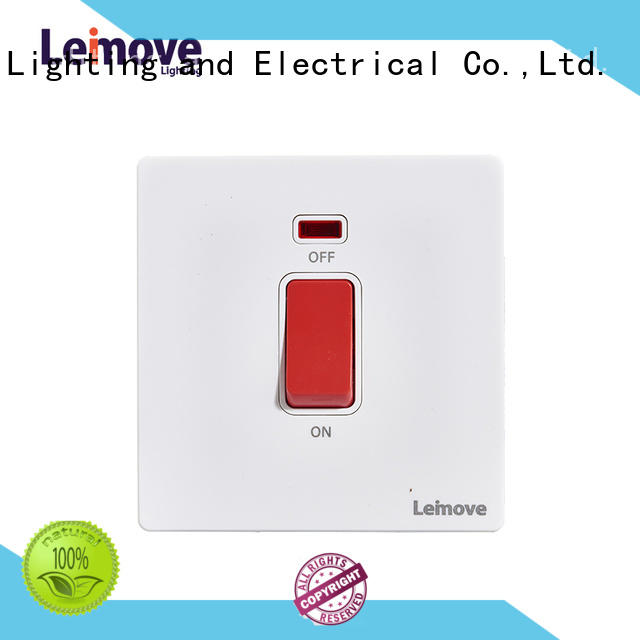 light switch with outlet sandstone gold for customization Leimove