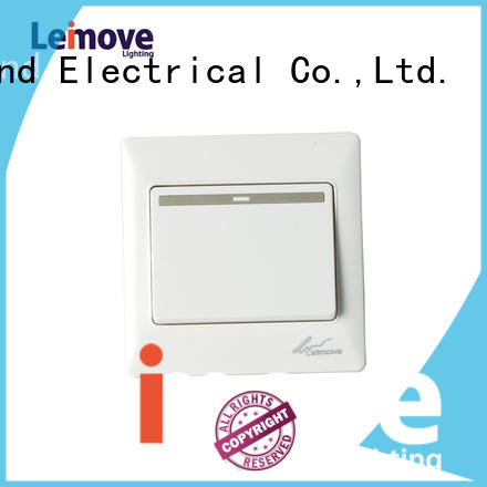 Leimove Brand gang wall switch electrical on off switch