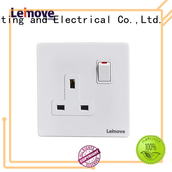 Leimove sand stone silver plug sockets wholesale at discount