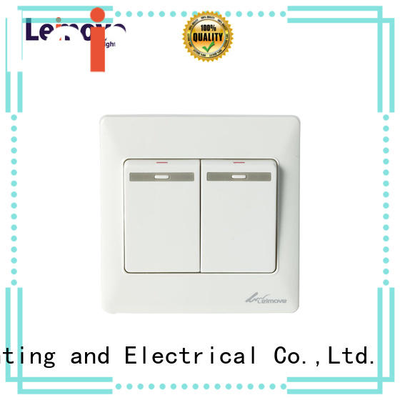 10A Two Gang One Way Switch White 86*86