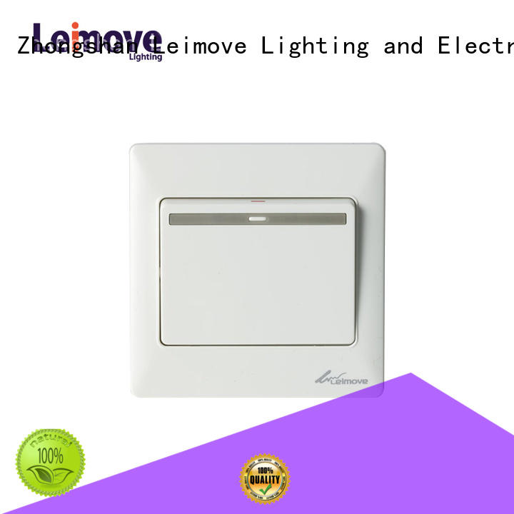Leimove home white light switch high quality for customization