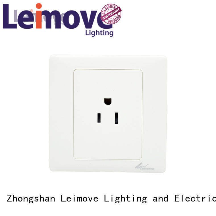 shaver electric switcher wall power socket Leimove manufacture