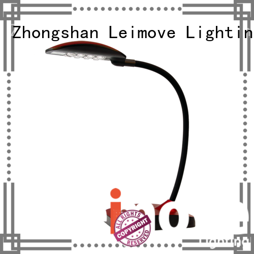 red silver dimmable OEM led desk lamp Leimove