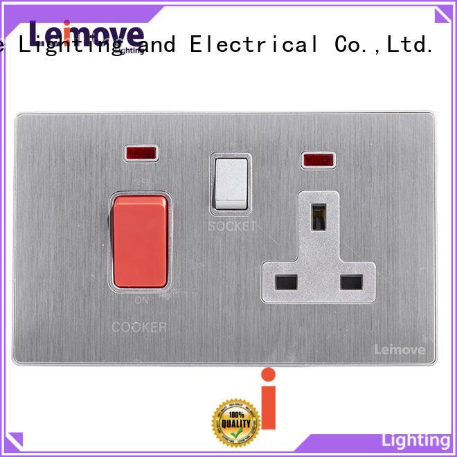 Leimove stainless steel plug and socket OEM custom