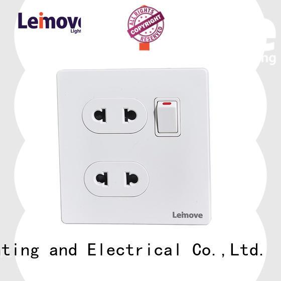 lingmai series international power socket ODM at discount Leimove