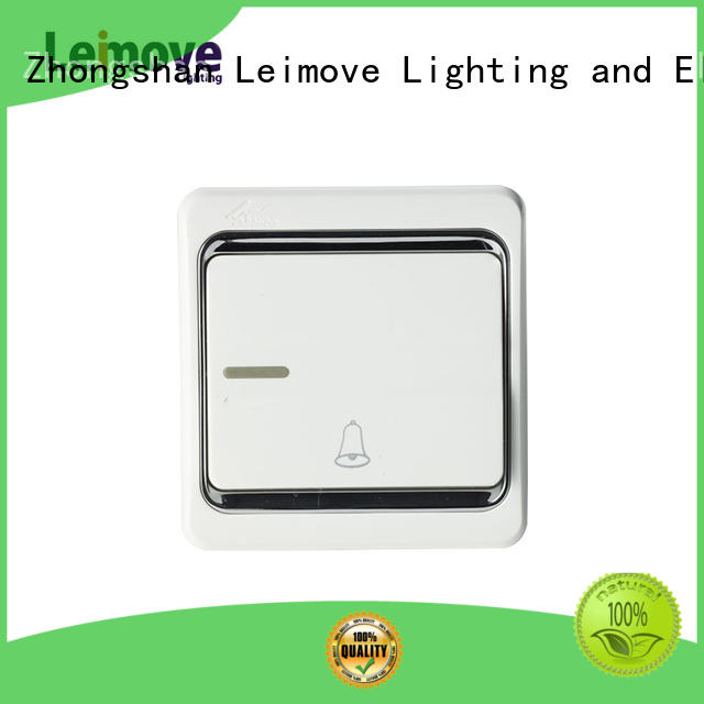 universal gold light switch good appearance for wholesale Leimove