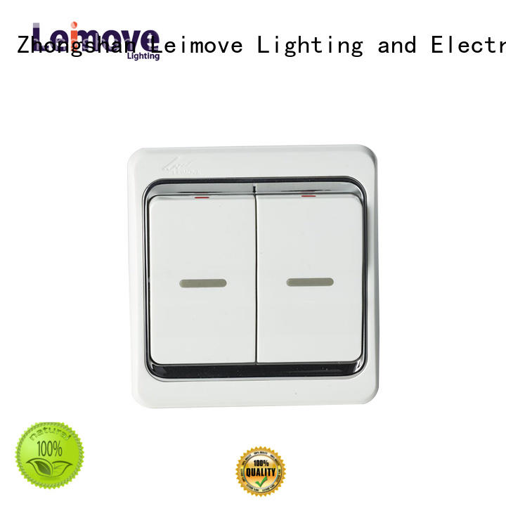 Leimove universal switches and sockets great practicality for customization