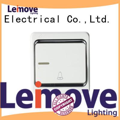 Wholesale way single light switch door Leimove Brand