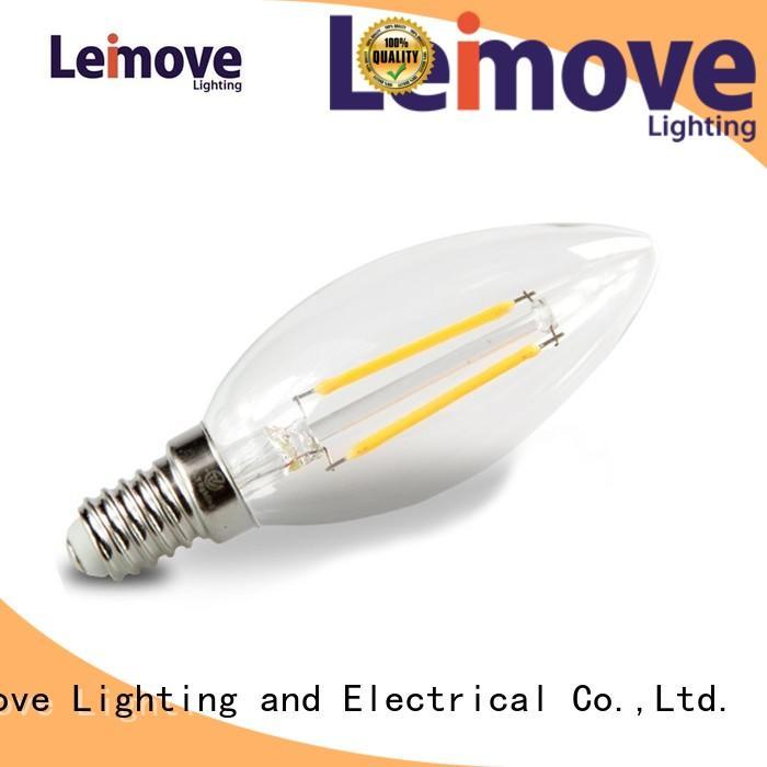 glass light Leimove Brand led bulbs online factory
