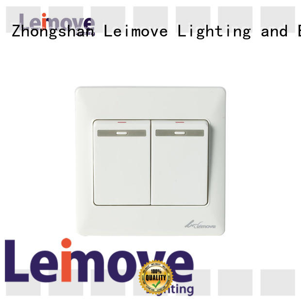 Leimove home white light switch custom for sale