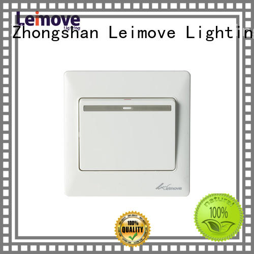 Leimove Brand home one light switch plates two